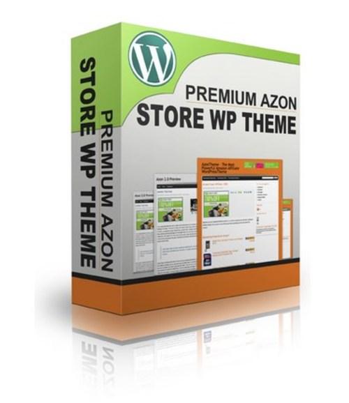 Product picture Premium Azon WordPress Theme.