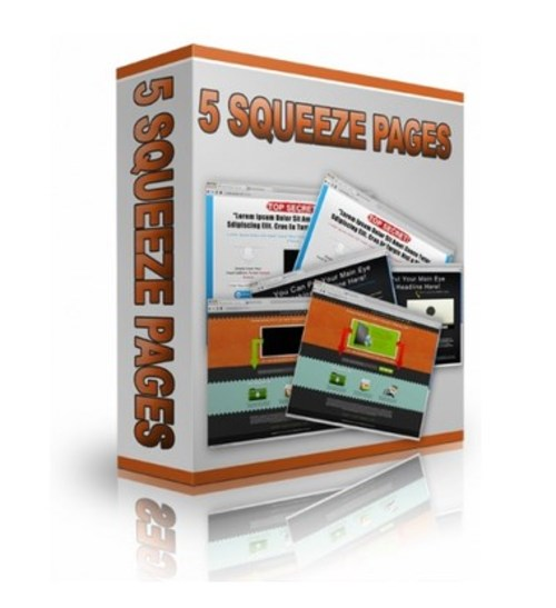 Product picture The Hottest New PLR Squeeze Pages?